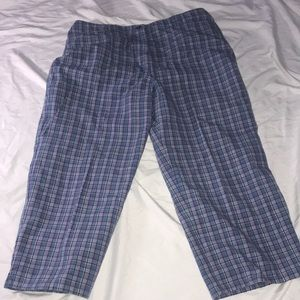 Crazy Horse Cropped Pants Size 12